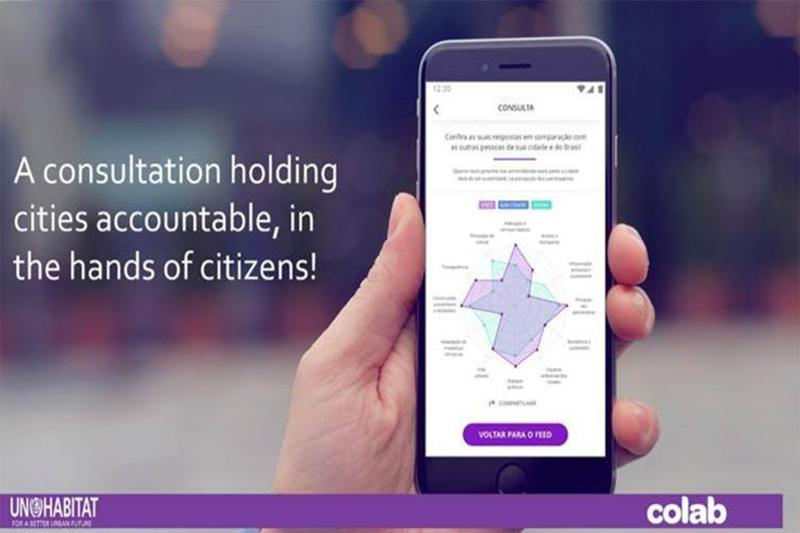 UN-Habitat and Colab launch mobile app for open public